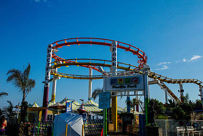 Photograph - Amusement Park by Robert Hebert