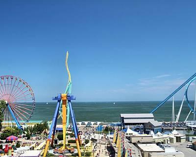 Best Sailing Photograph - Amusement Park View by Dan Sproul