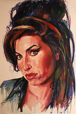 Amy Art Print by Tachi Pintor