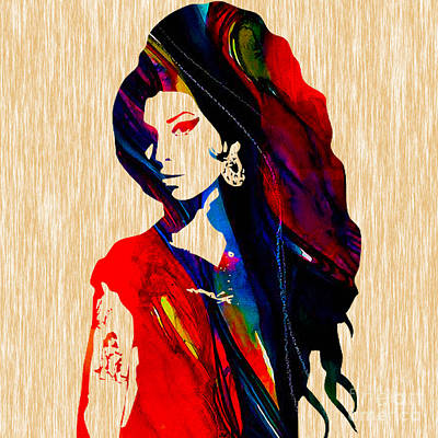 Amy Winehouse Collection Art Print by Marvin Blaine