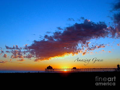 Art Print featuring the photograph Amzing Grace 7 by Margie Amberge