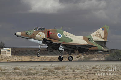 Owls - An A-4n Ayit Of The Israeli Air Force by Ofer Zidon