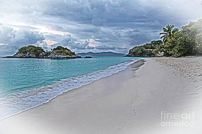Photograph - An Abandoned Trunk Bay by Betty Morgan