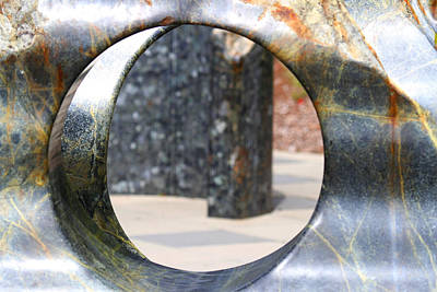 Photograph - An Abstract Sculpture by Marie Jamieson