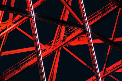 Photograph - An Abstract View Of A Bridge by Gabriel Perez
