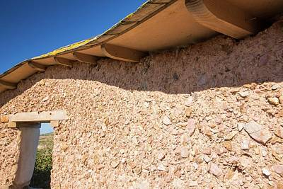 Mount Pleasant Photograph - An Adobe Earth Wall by Ashley Cooper