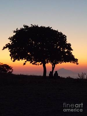 Print featuring the photograph An African Sunset by Vicki Spindler