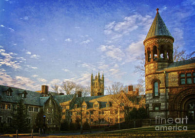 An Afternoon At Princeton Art Print