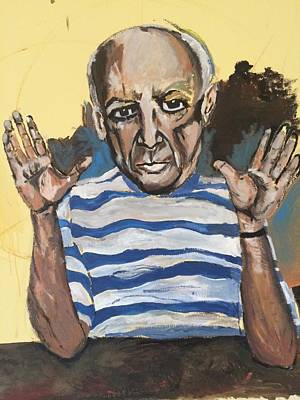 Face Painting - An Afternoon With Picasso by Belinda Low
