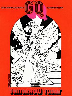 Photograph - An Age Of Aquarius Gq Cover by Peter Max