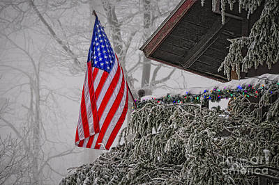 Photograph - An American Christmas by Lois Bryan