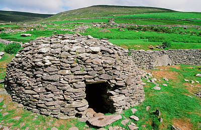 Ancestors Photograph - An Ancient Beehive Dwelling by Ashley Cooper