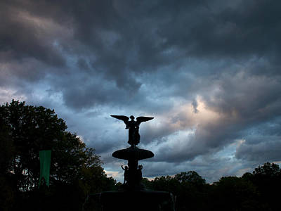 Photograph - An Angel In The Clouds by Cornelis Verwaal