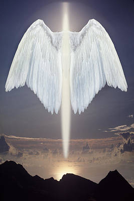 An Angel Of Light Art Print by Jim Zuckerman