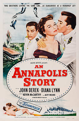 An Annapolis Story, Us Poster, Top Art Print by Everett