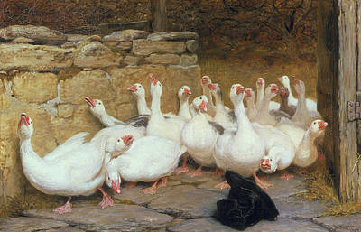 An Anxious Moment, 1878 Art Print by Briton Riviere