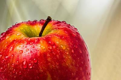 An Apple A Day Art Print by Alexander Senin