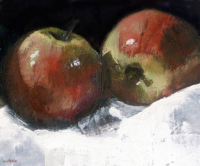 Painting - An Apple A Day by Gaye White