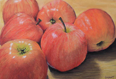 Painting - An Apple A Day by Joanne Grant