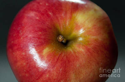 An Apple Art Print by Dan Holm
