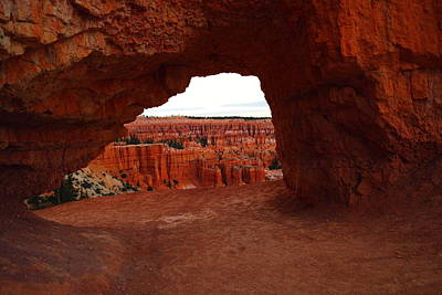 Southwestern Art Photograph - An Arch Foreground The Pillars by Jeff Swan