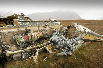 Puma Photograph - An Argentinian Puma Helicopter by Ashley Cooper
