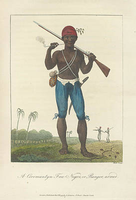 An Armed Negro Art Print by British Library