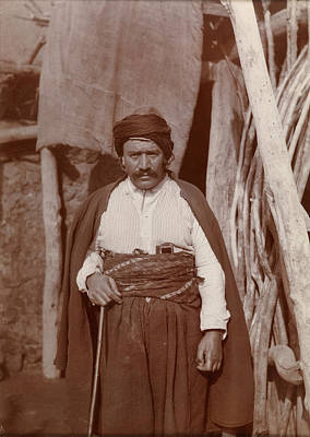 An Armenian Village Notable Art Print by British Library