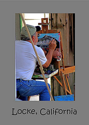 Photograph - An Artist Old Town Locke by Joseph Coulombe