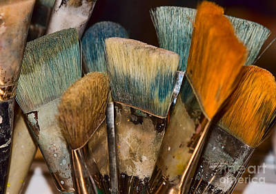 Photograph - An Artist's Tools by Catherine Fenner