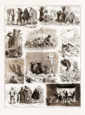An Ascent Of Ben Macdhui, 1883 1. We Arose Punctually Art Print by Litz Collection