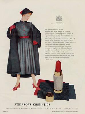An Atkinson's 'tomboy'  Lipstick, 'a Art Print