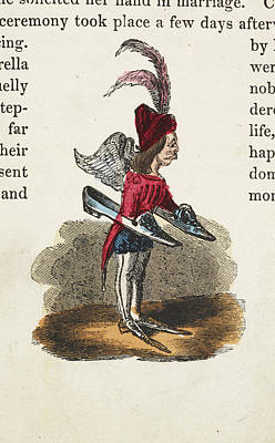 Cinderella Photograph - An Attendant by British Library