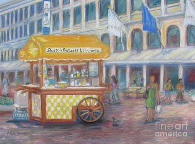 An August Day At Quincy Market Original by Claire Norris