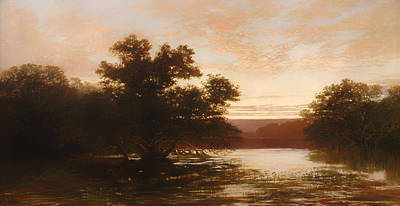 Mangrove Forest Painting - An Australian Mangrove by Mountain Dreams