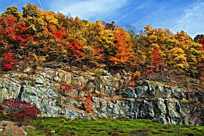 An Autumn Day Painted Art Print by Steve Harrington