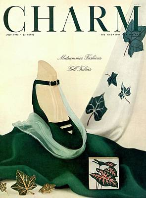 1940s Fashion Photograph - An Autumnal Charm Cover by Michael Elliot