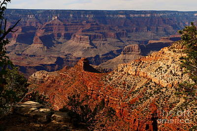 An Awesome View Of The Grand Canyon Art Print by Christiane Schulze Art And Photography