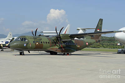 The Who - An Eads Casa C-295 Aircraft by Remo Guidi