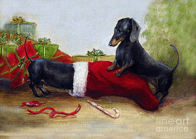 Painting - An Early Christmas by Stella Violano