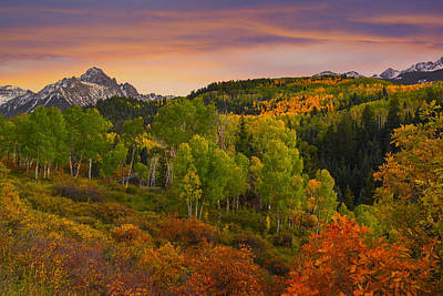 An Early Fall Morning Art Print by Tim Reaves