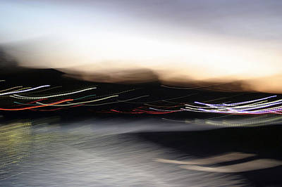 Photograph - An Early Morning Blur by Cora Wandel