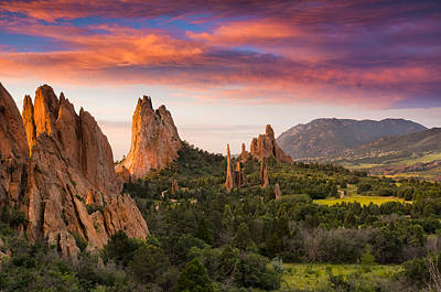 Garden Of The Gods Photograph - An Early Summer Morning by Tim Reaves