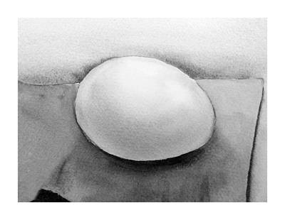 Wet On Wet Painting - An Egg Study Four by Irina Sztukowski