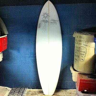 Photograph - An Ego Free Rider This Is The 6'4 For by Paul Carter
