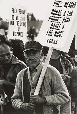 An Elderly Man In The Solidarity Day Art Print