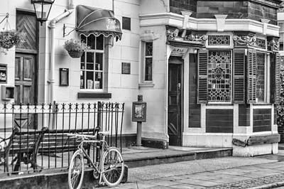 Photograph - An English City Pub by Georgia Fowler