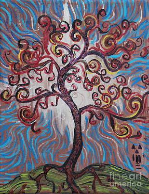 An Enlightened Tree Art Print