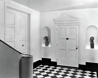 Entrance Hall Photograph - An Entrance Hall by Peter Nyholm