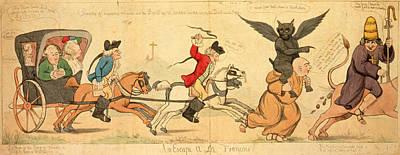 An Escape A La Francois Print by Litz Collection